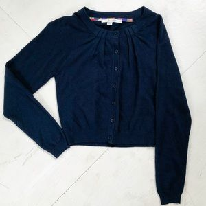 NWOT Boden Cashmere Blend Button Up Cardigan